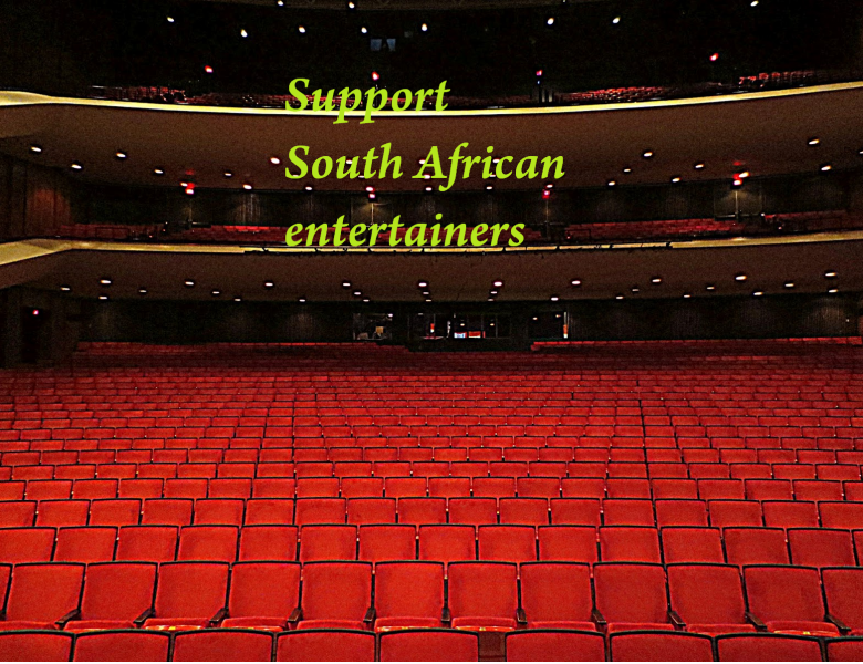 The lockdown and SA entertainers