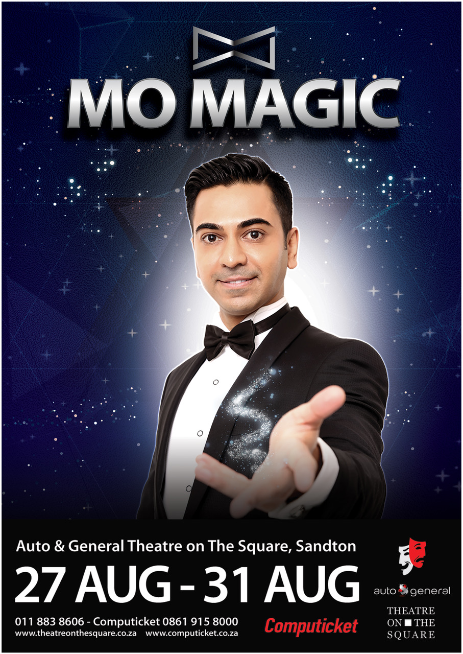 There's Mo Magic in Joburg this week